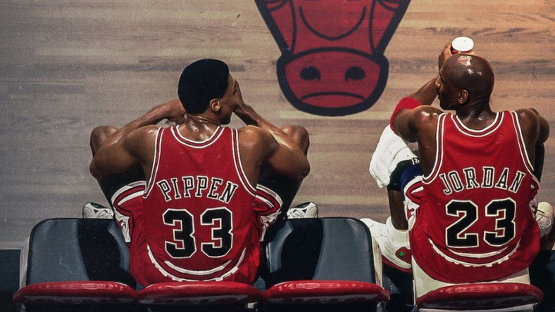 Michael Jordan i Scottie Pippen