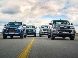 Pikapy jednak nie są dla każdego. Ford Ranger kontra Isuzu D-Max, Nissan Navara i Toyota Hilux