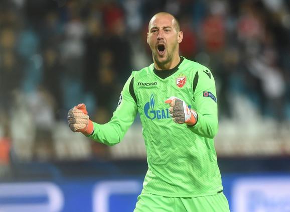 Milan Borjan proslavlja trijumf