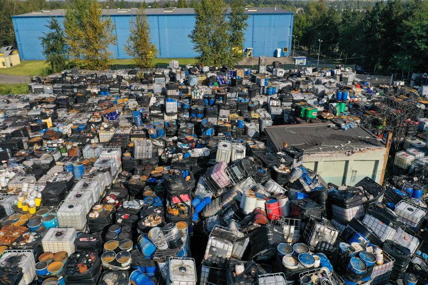 Likwidacja składowiska odpadów w Brzezince, dzielnicy Mysłowic