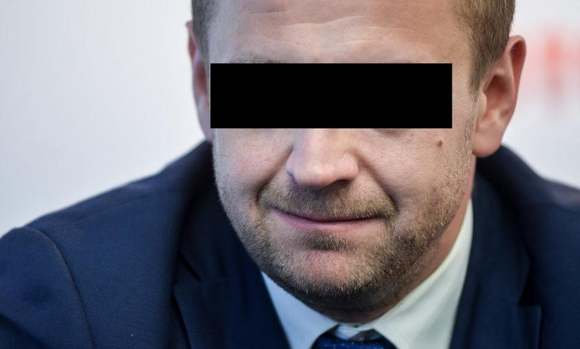 Przemysław M. zatrzymany przez CBA i wyrzucony z PiS