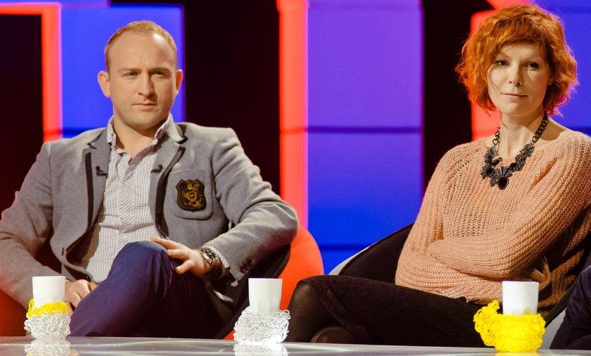 Borys Szyc i Agnieszka Glińska