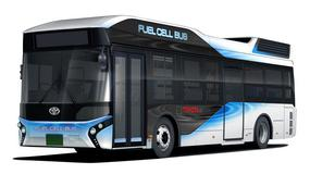 Autobusy Toyoty z funkcją mobilnego generatora