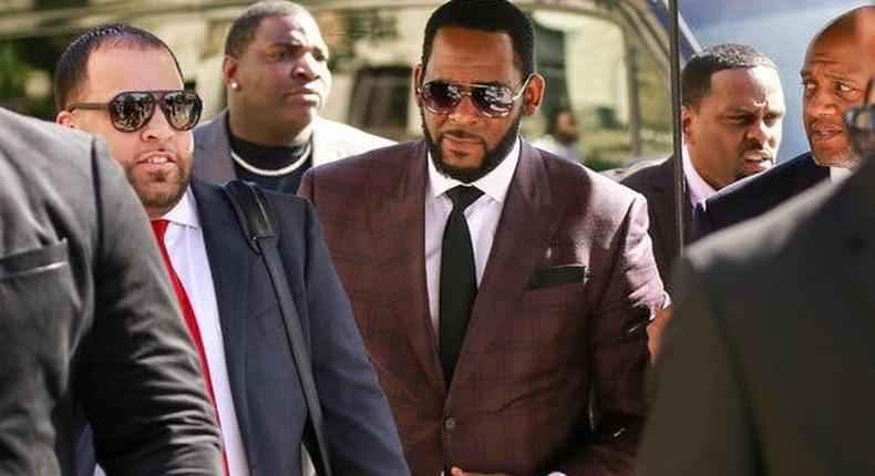 Key witness is cooperating in case against R&B star