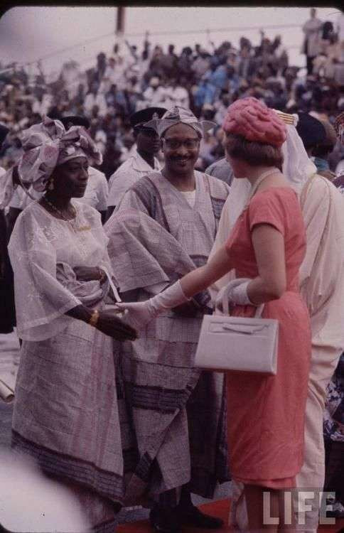 Nigeria's indepedence at 1960 [Credit - Nigerian Archives]