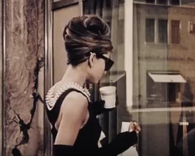 """Mala crna haljina proslavljena je u fimu """"Doručak kod Tifanija"""""""
