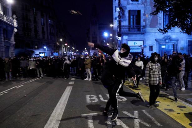 Protesty w Barcelonie