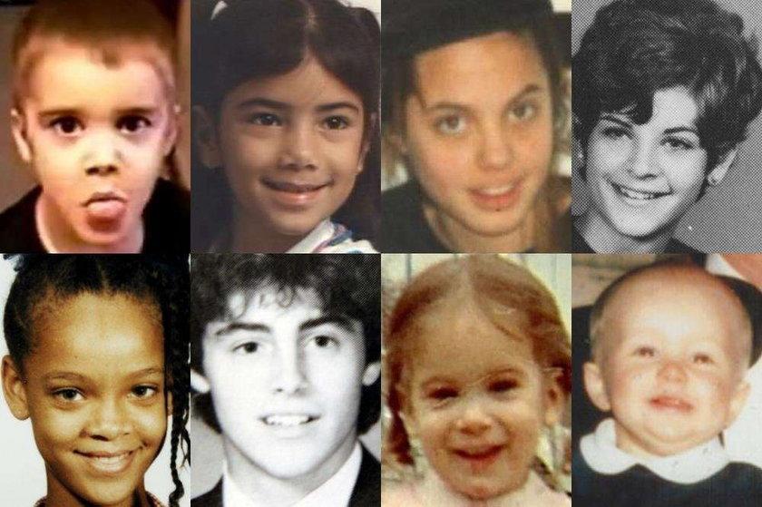 Zdjęcia gwiazd z dzieciństwa