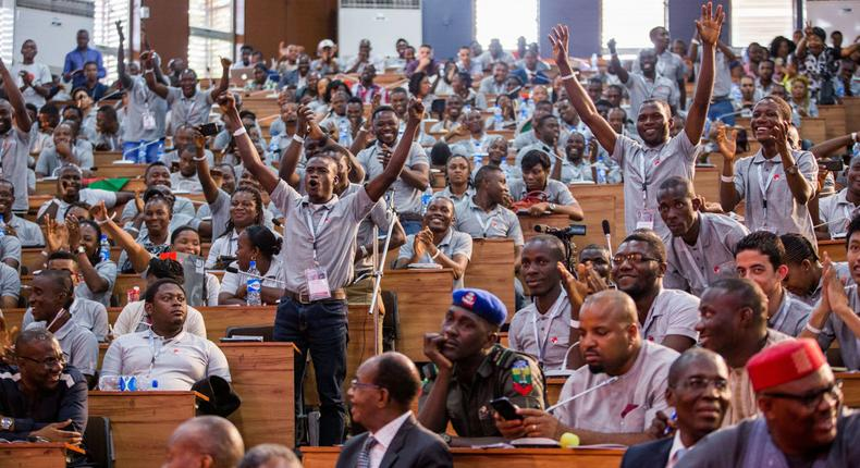 Tony Elumelu Foundation entreprenuers