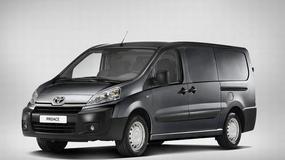 ProAce - nowy samochód dostawczy Toyoty
