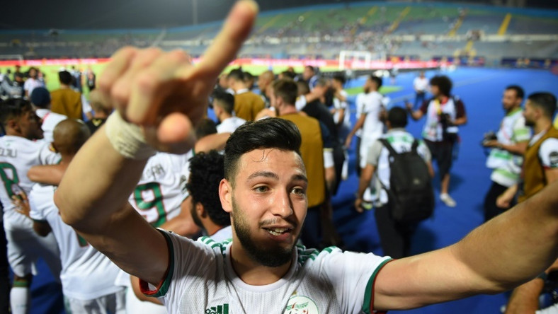 Ramy Bensebaini was part of the Algerian team at the Africa Cup of Nations