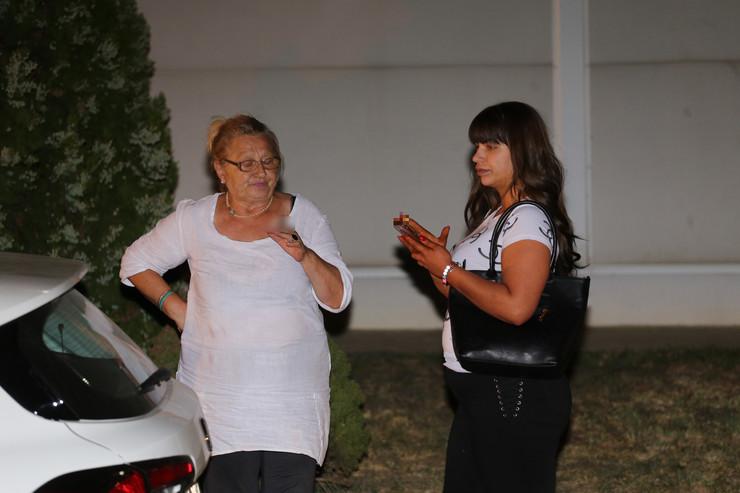 Miljana Kulić i dadilja