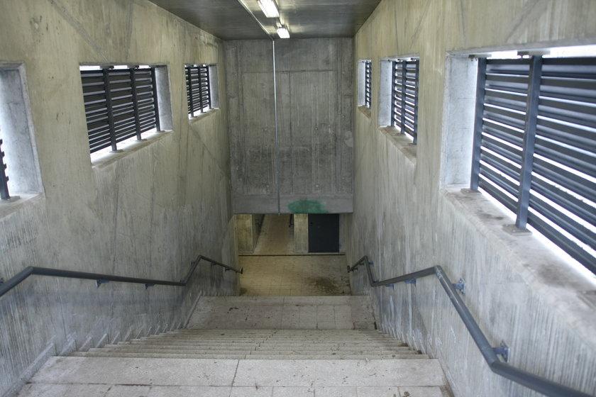 Tunel w rejonie ul. Gościnnej