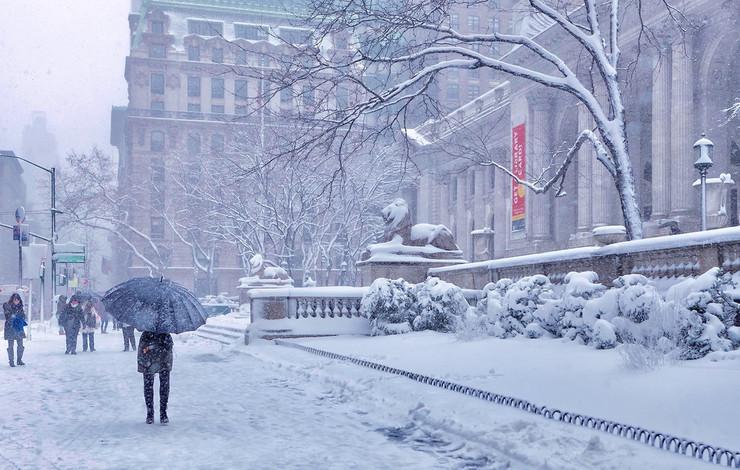 sneg njujork