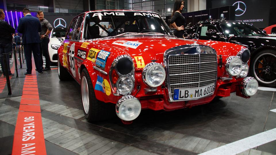 Poznań Motor Show 2017 - Mercedes-Benz 300SEL