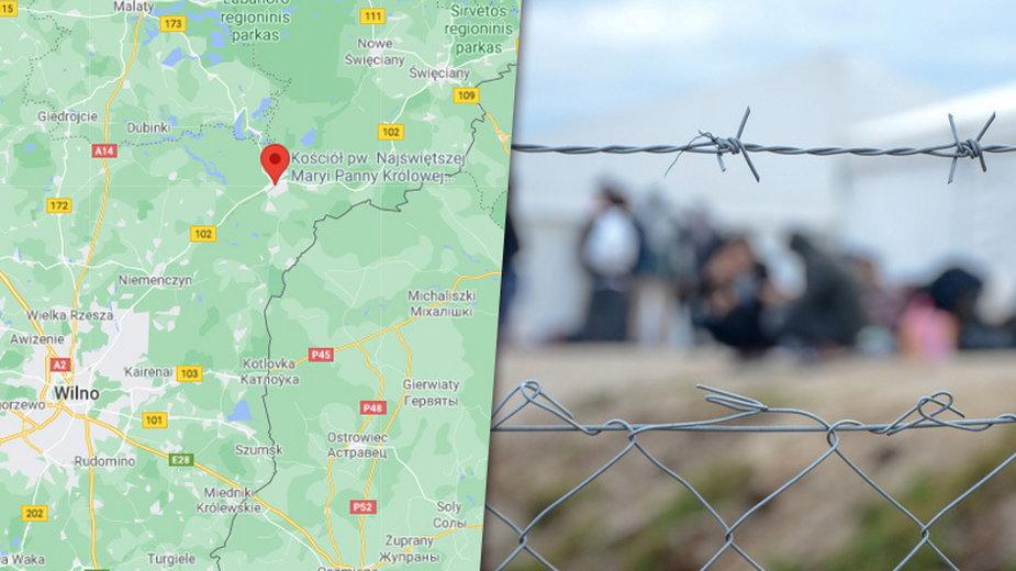 Do buntu w ośrodku W Podbrodzie doszło, ponieważ uchodźcy nie chcieli zgodzić się na pobyt