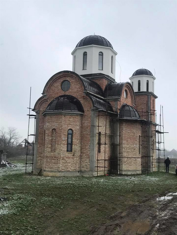 Crkva u Skeli se još nalazi u fazi gradnje