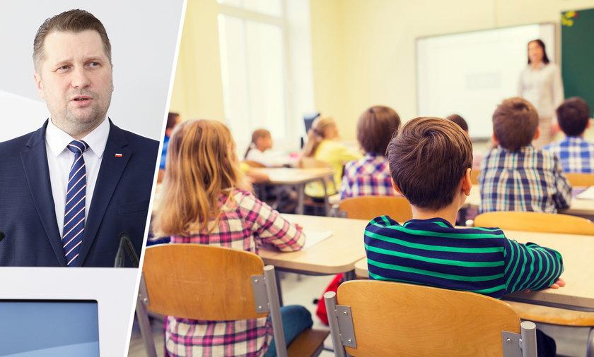Jak będzie wyglądać powrót dzieci do szkół? Na zdjęciu minister edukacji Przemysław Czarnek