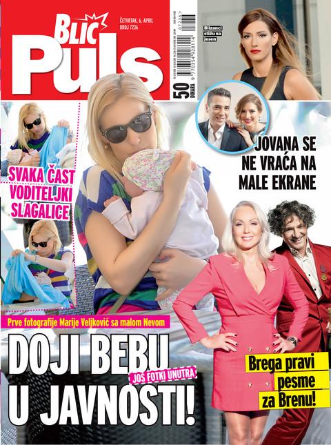 NOVI BLIC PULS EKSKLUZIVNO DONOSI: Prve fotografije Marije Veljković sa malom Nevom! Evo kako doji bebu U JAVNOSTI!