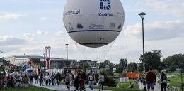 Balon zasłoni widok na Wawel i kościół na Skałce?
