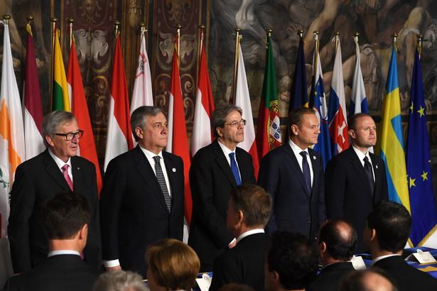 Ceremonia z okazji 60-lecia podpisania Traktatów Rzymskich