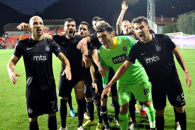 Partizan je i u Nišu slavio, pa se za crno-bele može reći da su odličnoj formi