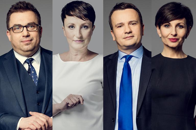 Bartosz Węglarczyk, Agnieszka Burzyńska, Andrzej Stankiewicz, Renata Kim
