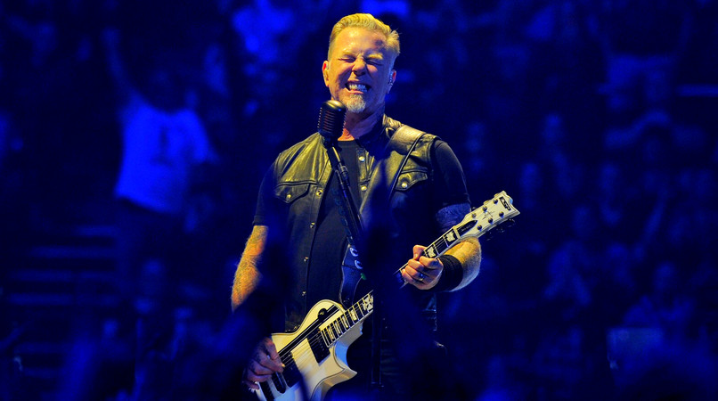 James Hetfield în concert