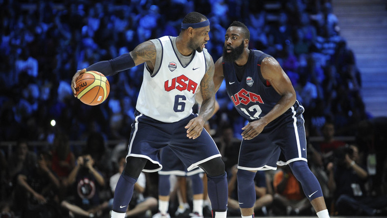 LeBron James i James Harden