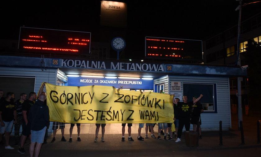 Górników wspierają kibice GKS-u