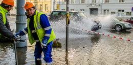 Woda zalała centrum Gdańska