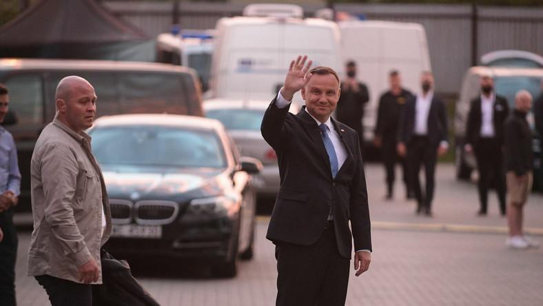 Prezydent w Końskich