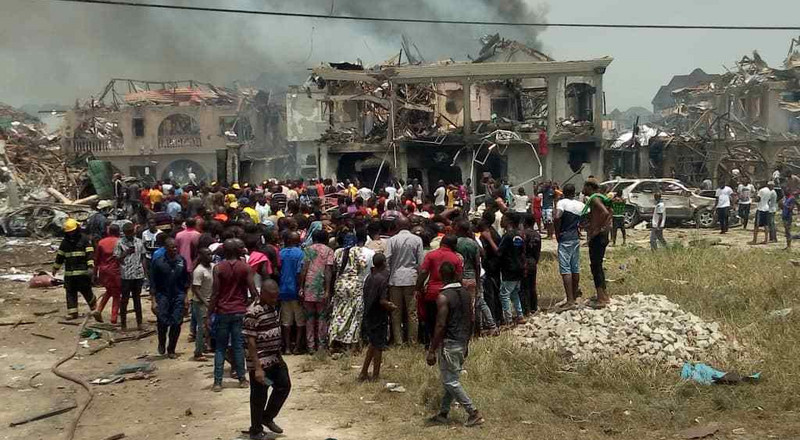 Lagos Explosion: Over 50 houses destroyed, says NEMA chief