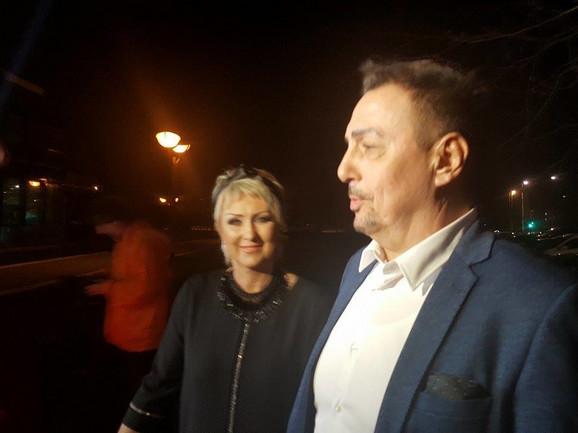 Dragan Kojić Keba i supruga Olja