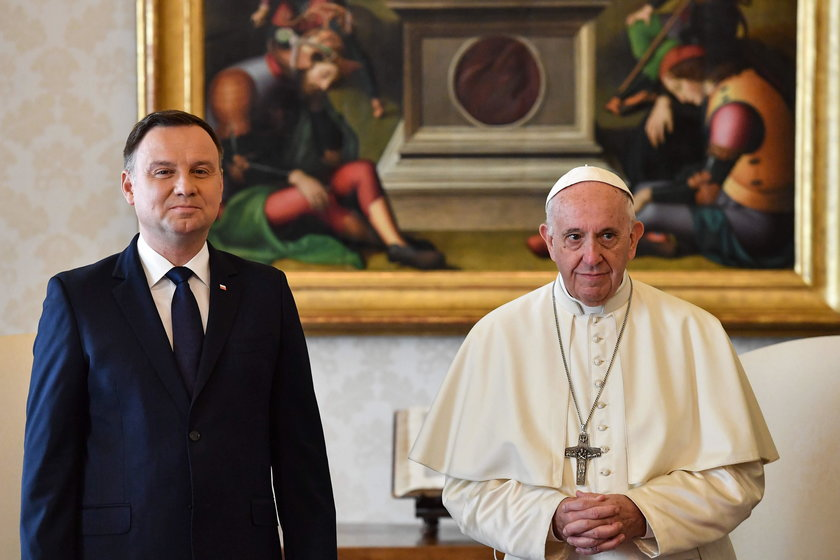 Prezydent zaprosił papieża do Polski na 100. rocznicę odzyskania niepodległości