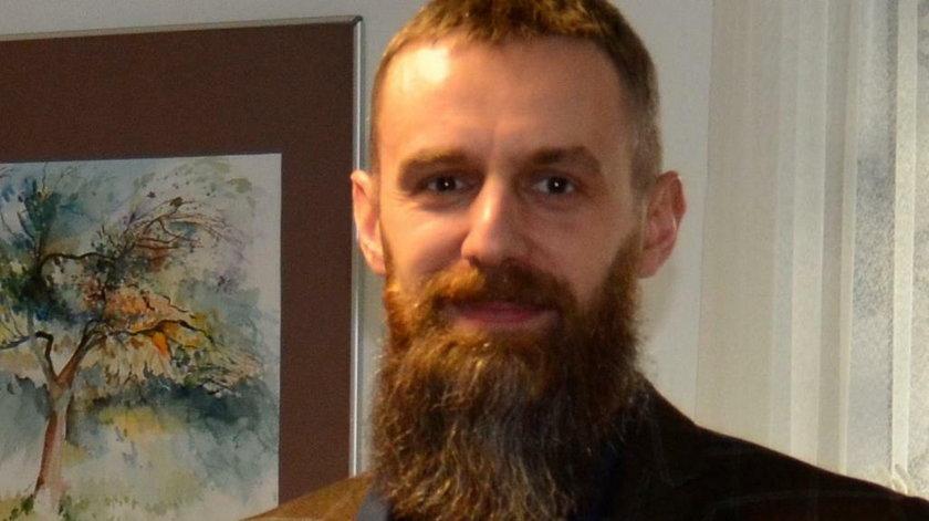 Bartłomiej Bartecki, dyrektor muzeum w Hrubieszowie.