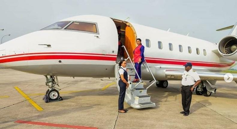 Rev. Lucy Natasha acquires brand new private jet