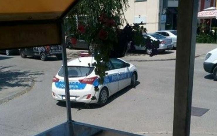 Jednosmerna ulica policija Banjaluka