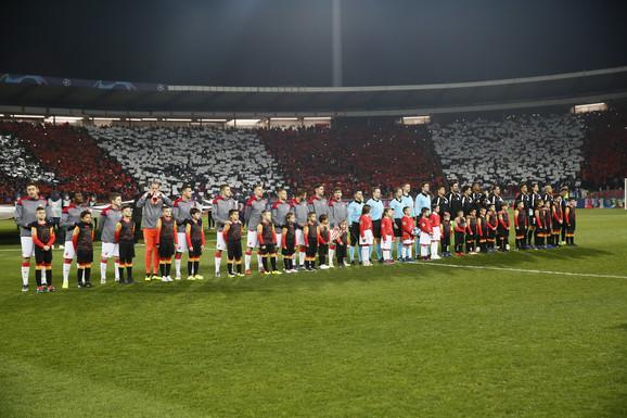 Spektaklom je spuštena zavesa na ovogodišnje učešće Zvezde u Ligi šampiona