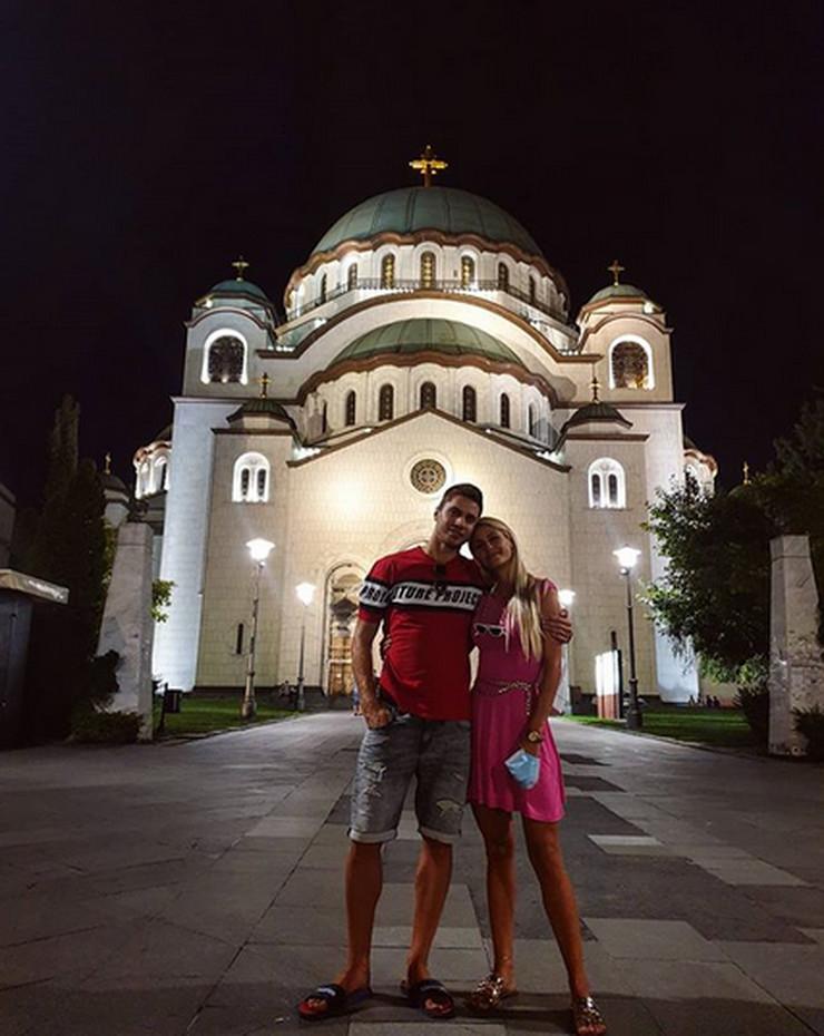 Maksim Buculjević sa suprugom