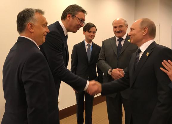 Vučić sa Vladimirom Putinom