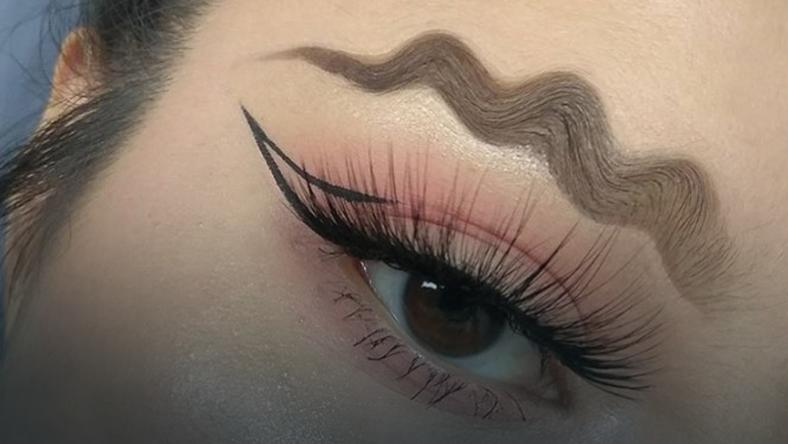 """""""Squiggle brows"""" - nowy instagramowy trend"""