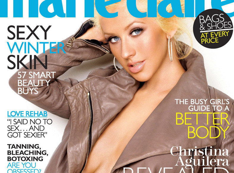 Christina Aguilera pozuje w ciąży