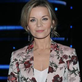 """""""Mam talent!"""": Małgorzata Foremniak w kwiecistym garniturze. Udana stylizacja?"""