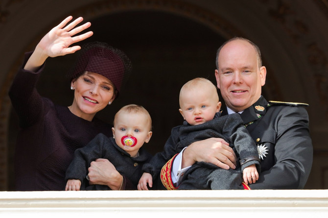 Princ sa suprugom i decom