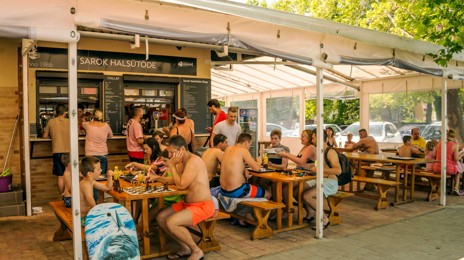 Bar nad Balatonem, Węgry
