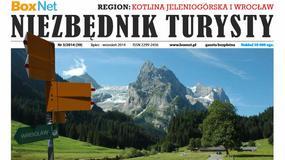 Niezbędnik Turysty chce przyciągnąć turystów w Karkonosze promując je... zdjęciem Alp