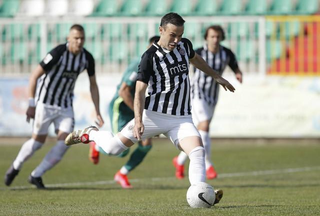 Detalj sa meča Inđija - FK Partizan