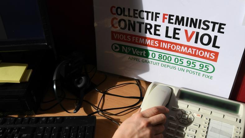 Francuski telefon zaufania dla molestowanych kobiet