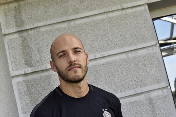 Druženje sa igračima Partizana